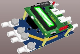 Контроллер заряда АКБ для ветроустановок
